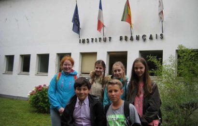 Schülerinnen und Schüler der Gesamtschule Eifel absolvieren DELF-Prüfung am Institut Francais de Cologne