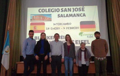 Deutsch-spanischer Schüleraustausch der Gesamtschule Eifel mit dem Colegio San José in Salamanca