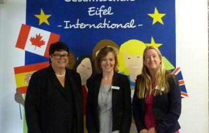 Vielgestaltiger Europatag an der Gesamtschule Eifel am  9. Mai 2019