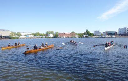 "Gesamtschule Eifel in Hamburg – Ruder AG nahm an der Ausbildungsfahrt ""Wanderrudern"" teil"