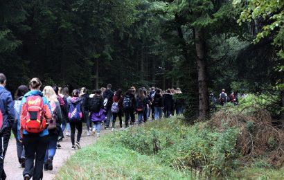 Schulwanderung von Blankenheim zum zweiten Schulstandort nach Nettersheim