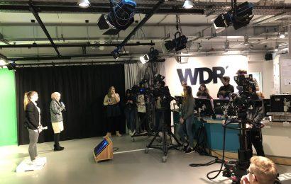 Gesamtschule Eifel beim WDR in Köln