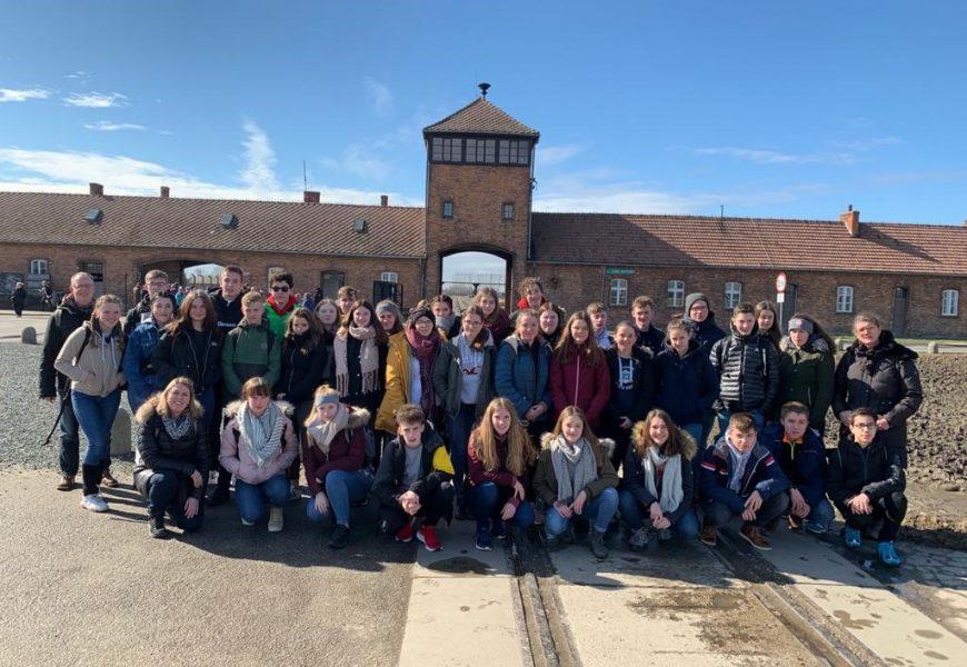Gesamtschule Eifel besucht die Gedenkstätte Auschwitz