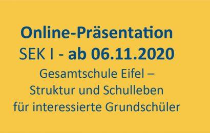 Die Gesamtschule Eifel (Standort Blankenheim) stellt sich vor